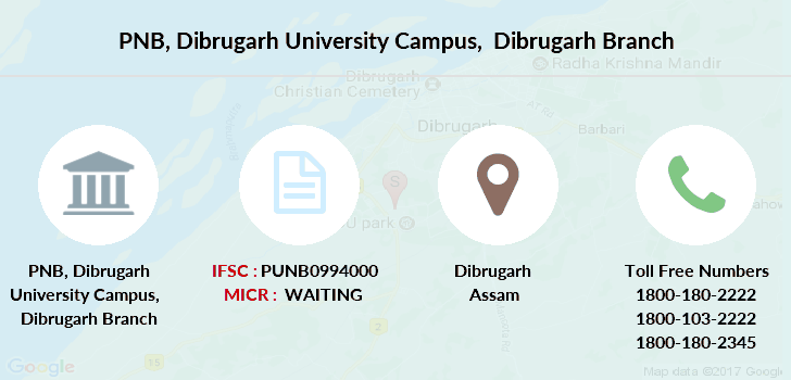 Punjab-national-bank Dibrugarh-university-campus-dibrugarh branch