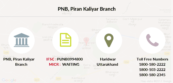 Punjab-national-bank Piran-kaliyar branch