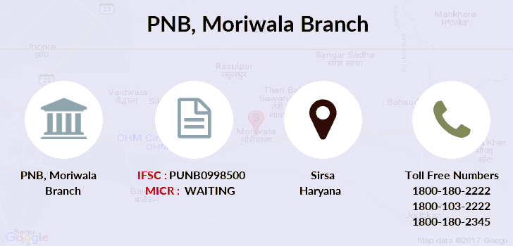 Punjab-national-bank Moriwala branch