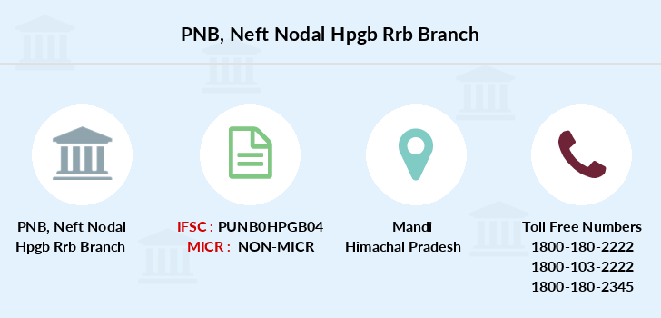 Punjab-national-bank Neft-nodal-hpgb-rrb branch