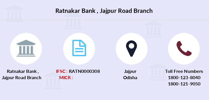 Ratnakar-bank Jajpur-road branch