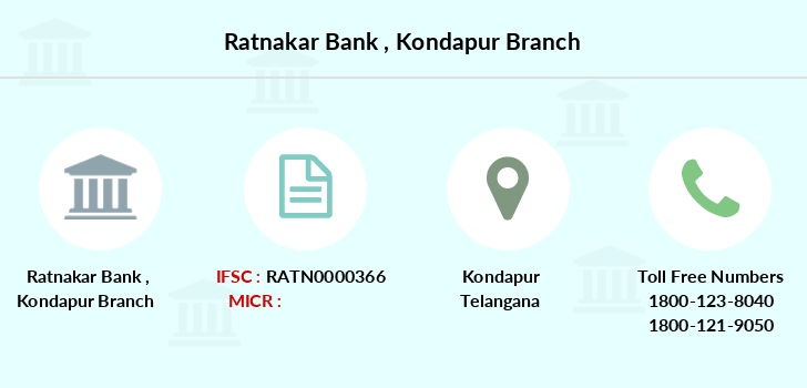 Ratnakar-bank Kondapur branch