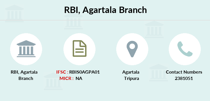 Reserve-bank-of-india Agartala branch