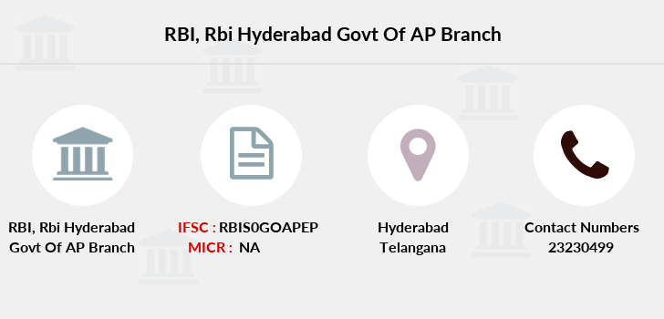 Reserve-bank-of-india Rbi-hyderabad-govt-of-ap branch
