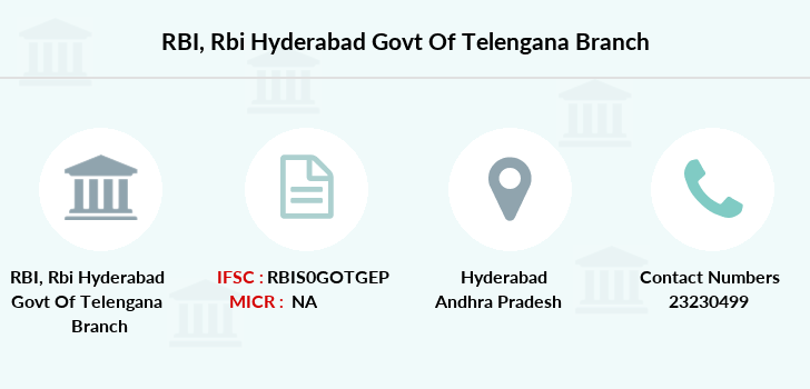 Reserve-bank-of-india Rbi-hyderabad-govt-of-telengana branch