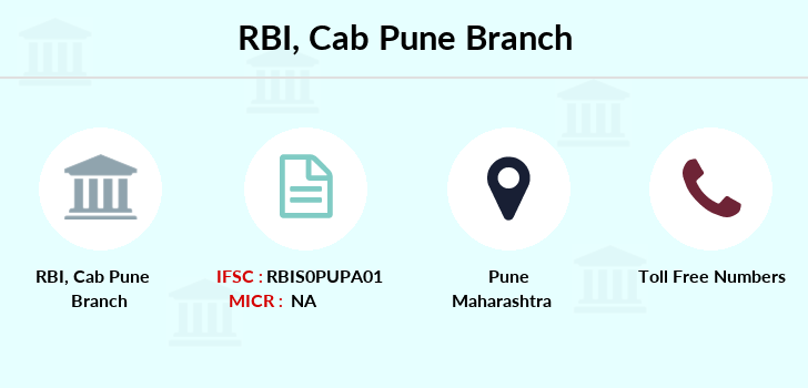 Reserve-bank-of-india Cab-pune branch