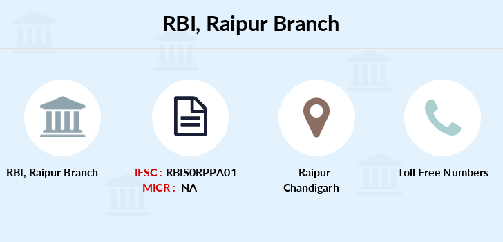 Reserve-bank-of-india Raipur branch