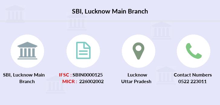 state bank of india (sbi) lucknow main branch lucknow uttar pradesh