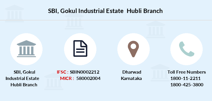 Sbi Gokul-industrial-estate-hubli branch