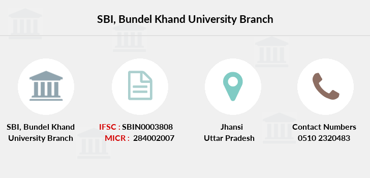 Sbi Bundel-khand-university branch