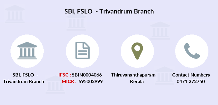 bank of india trivandrum branch ifsc code