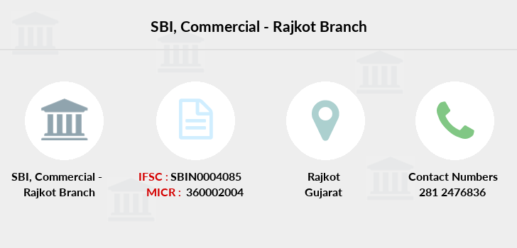 Sbi Commercial-rajkot branch