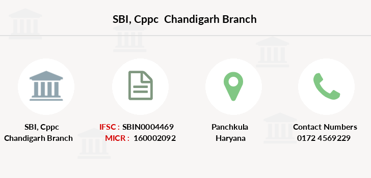 Sbi Cppc-chandigarh branch