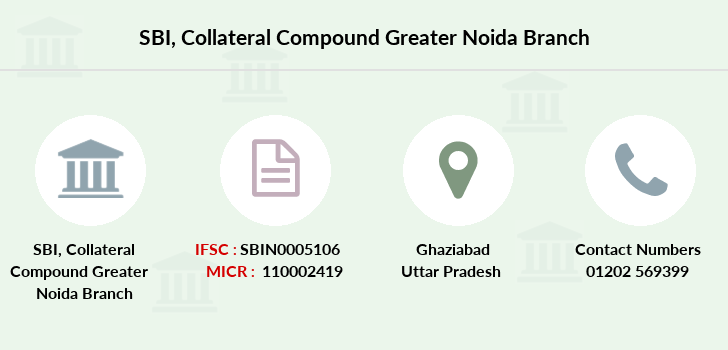 Sbi Collateral-compound-greater-noida branch