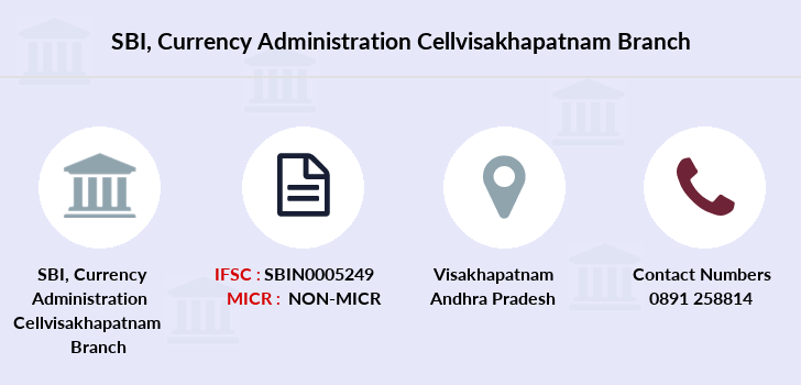 Sbi Currency-administration-cellvisakhapatnam branch