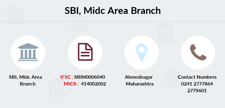 Sbi Midc-area branch