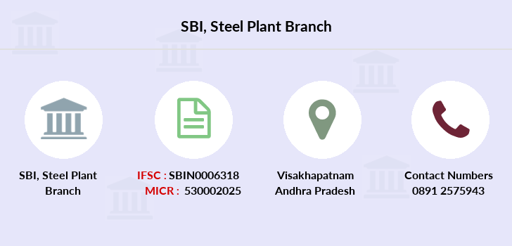 Sbi Steel-plant branch