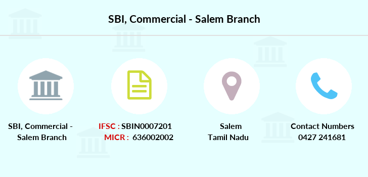 Sbi Commercial-salem branch