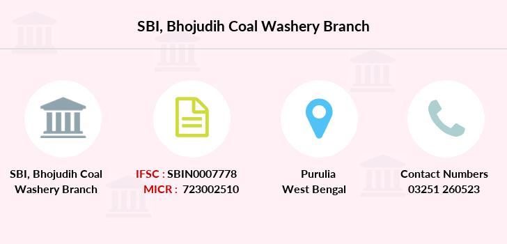 Sbi Bhojudih-coal-washery branch