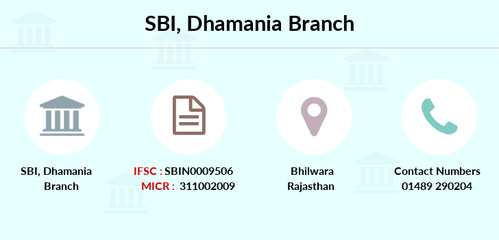 Sbi Dhamania branch