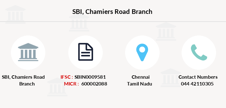 Sbi Chamiers-road branch