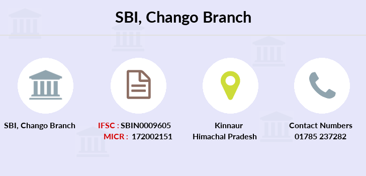 Sbi Chango branch