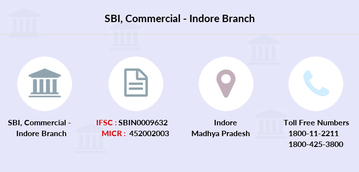 Sbi Commercial-indore branch