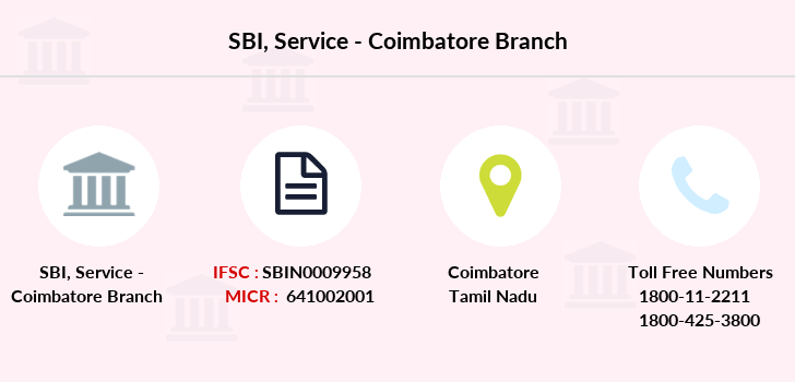 Sbi Service-coimbatore branch