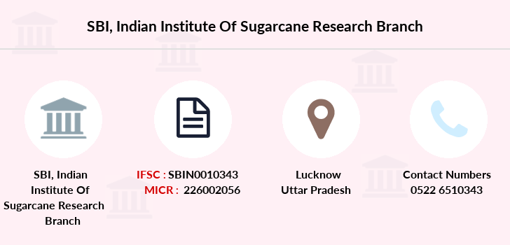 Sbi Indian-institute-of-sugarcane-research branch