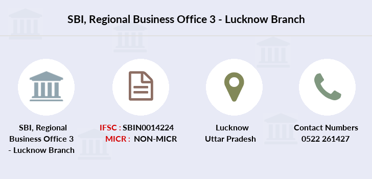 Sbi Regional-business-office-3-lucknow branch