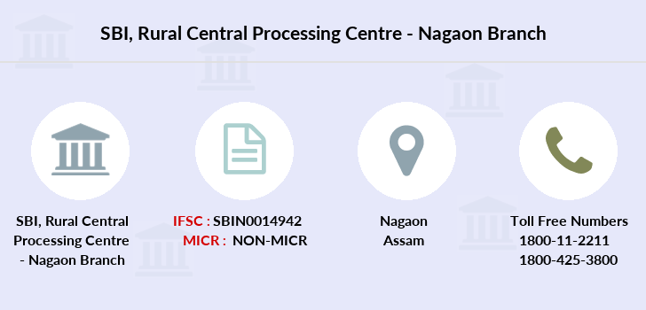Sbi Rural-central-processing-centre-nagaon branch