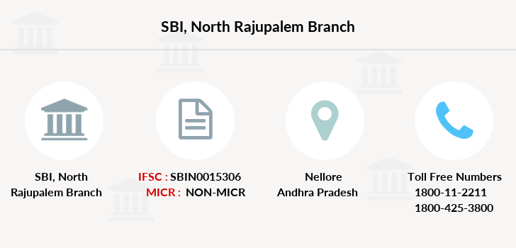 Sbi North-rajupalem branch