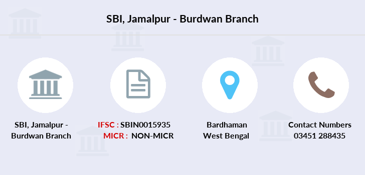 Sbi Jamalpur-burdwan branch