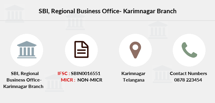 Sbi Regional-business-office-karimnagar branch
