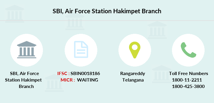 Sbi Air-force-station-hakimpet branch