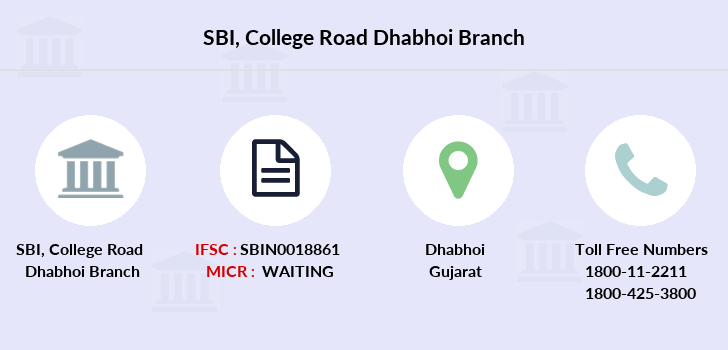Sbi College-road-dhabhoi branch