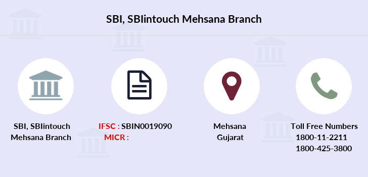 Sbi Sbiintouch-mehsana branch