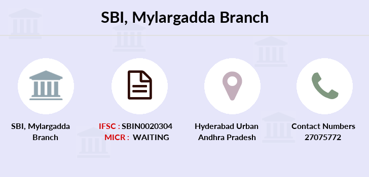 Sbi Mylargadda branch