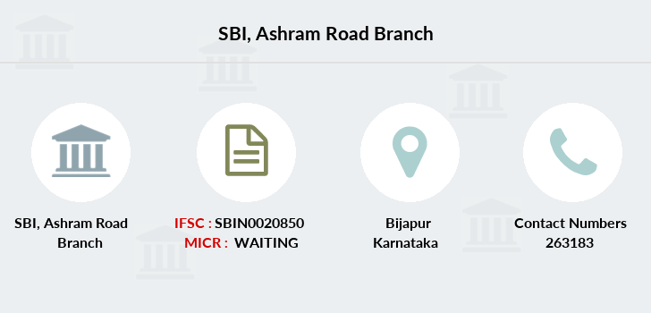 Sbi Ashram-road branch