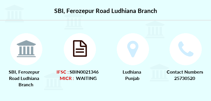 Sbh Ferozepur-road branch