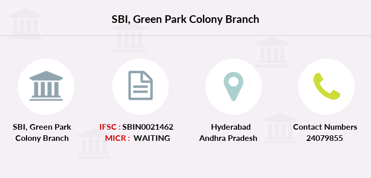 Sbh Green-park-colony branch