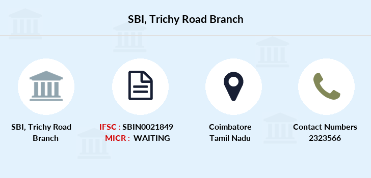 Sbh Trichy-road branch