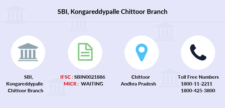 Sbh Kongareddypalle branch