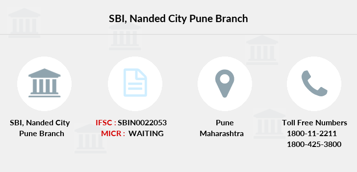 state bank of india nanded city branch pune maharashtra