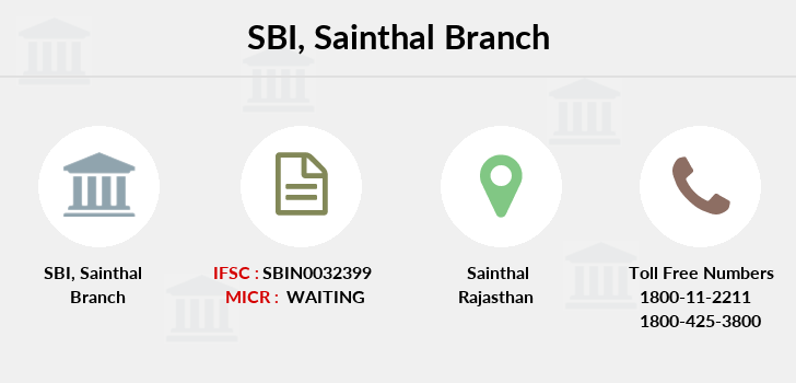 Sbi Sainthal branch