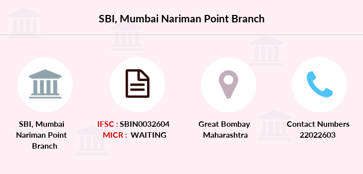 Sbi Mumbai-nariman-point branch