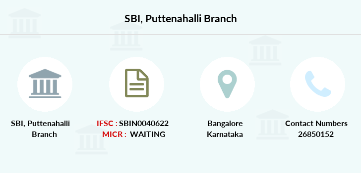 Sbm Puttenahalli branch