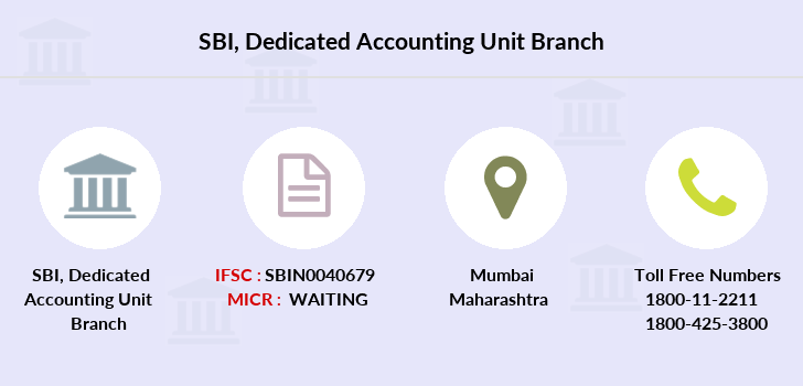 Sbi Dedicated-accounting-unit branch