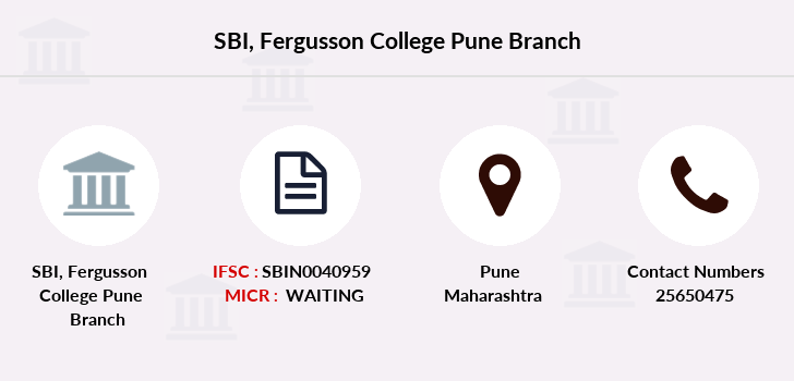 Sbi Fergusson-college-pune branch