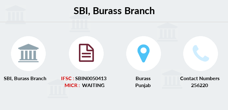 Sbi Burass branch